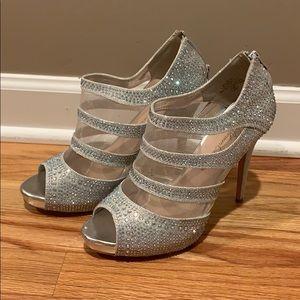 De Blossom Collection Silver Heels